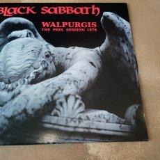 Discos de vinilo: BLACK SABBATH - WALPURGIS. THE PEEL SESSION 1970. LP VINILO NUEVO. Lote 181175197