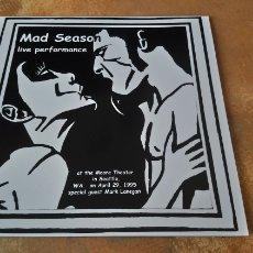 Discos de vinilo: MAD SEASON–LIVE PERFORMANCE . LP VINILO NUEVO. Lote 181177301