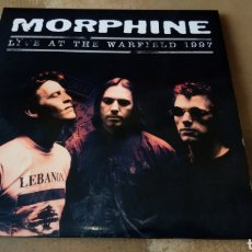 Discos de vinilo: MORPHINE  ‎- LIVE AT THE WARFIELD 1997 - DOBLE LP PORTADA ABIERTA - NUEVO. Lote 181178821