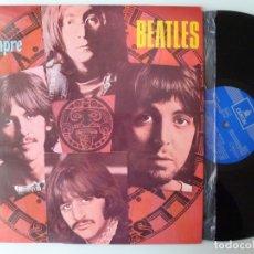 Discos de vinilo: THE BEATLES - POR SIEMPRE (LP EMI-ODEON 1971 ESPAÑA) 1ª EDICION LABEL AZUL OSCURO. Lote 181178851