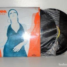 Discos de vinilo: MINA, LA VOZ, DOBLE LP, RIFI DCS15080/1 ESPAÑA 1975 COMO NUEVO. NM/EX. Lote 181180907