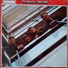 Discos de vinilo: DOBLE LP ROJO THE BEATLES / 1962-1966. Lote 181181585