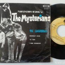 Discos de vinilo: QUESTION MARK & THE MYSTERIANS -96 LAGRIMAS +3 - EP SONOPLAY / CAMEO 1967 // CLASICO GARAGE NUGGETS. Lote 181187438