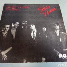Discos de vinilo: SILVIO Y LUZBEL - ROCKIN TONIGHT + LA PLAYA - 7'' SINGLE 1980 RCA - PROMOCIONAL / RARO!!!!!!!!!. Lote 181189696