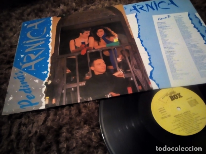 Discos de vinilo: PEDIRAS ARNICA LP. PEDIRAS ARNICA MADE IN SPAIN 1988 - Foto 1 - 181190206