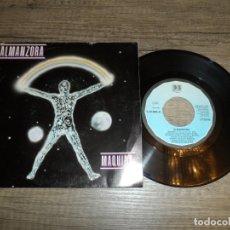 Disques de vinyle: ALMANZORA - MAQUINA. Lote 181196157