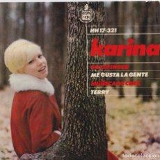 Discos de vinilo: KARINA - MUÑECA DE CERA . Lote 181196345