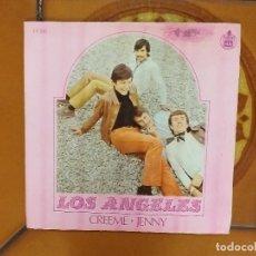 Dischi in vinile: SNGLE. LOS ANGELES. CREEME/JENNY. HISPAVOX 1968.. Lote 181202688