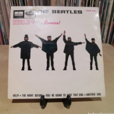 Discos de vinilo: THE BEATLES -EP- HELP + 3 SPAIN 1965. Lote 181202733