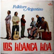 Discos de vinilo: LOS HUANCA HUA - FOLKLORE ARGENTINO - LP MICROFON 1970 ARGENTINA BPY. Lote 181206635