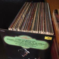 Discos de vinilo: LOS GRANDES TEMAS DE LA MÚSICA 65 LP`S + 4 TOMOS - COMPLETA - SALVAT. Lote 181208968