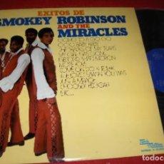 Discos de vinilo: SMOKEY ROBINSON AND THE MIRACLES – EXITOS DE.. (TAMLA MOTOWN, S-32520, LP, COMP 1974). Lote 181212177
