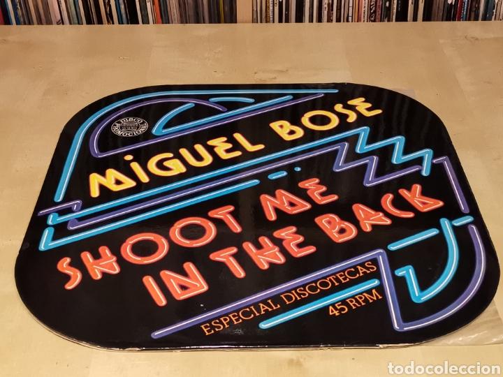 MIGUEL BOSE - MAXI - SHOOT ME IN THE BACK SPAIN PROMO 70,S (Música - Discos de Vinilo - Maxi Singles - Solistas Españoles de los 70 a la actualidad)