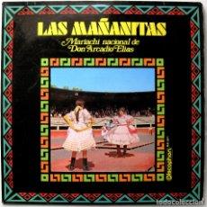 Discos de vinilo: MARIACHI NACIONAL DE DON ARCADIO ELIAS - LAS MAÑANITAS - LP DISCOPHON 1970 BPY. Lote 181212853