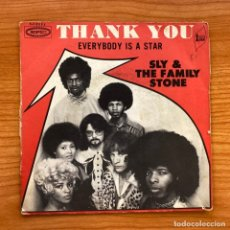 Discos de vinilo: SLY & THE FAMILY STONE // THANK YOU - EVERYBODY IS A STAR // EDICIÓN FRANCIA. Lote 181213723