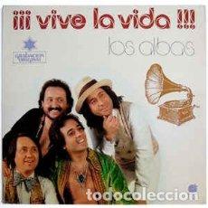 Discos de vinilo: LOS ALBAS – VIVE LA VIDA (IMPACTO, EL-4001 LP, ALBUM, MEDLEY, 1978). Lote 181213865