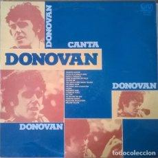 Discos de vinilo: DONOVAN – DONOVAN CANTA DONOVAN (GRAMUSIC – GM 384, LP 1975). Lote 181214606