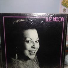 Discos de vinilo: LP LENNY ANDRADE : LUZ NEON (BRAZILIAN BOSSA NOVA JAZZ SAMBA ). Lote 181220326