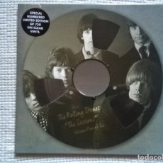 Discos de vinilo: THE ROLLING STONES - '' THE SESSIONS FIVE OF SIX '' LP CLEAR VINYL 10'' LIMITED #750 EU 2019 SEALED. Lote 181222730