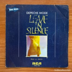 Discos de vinilo: DEPECHE MODE // LEAVE IN SILENCE - EXCERPT FROM MY SECRET GARDEN. Lote 181223091