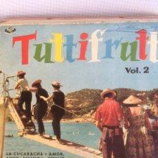 Discos de vinilo: TUTTIFRUTTI VOL. 2. LA CUCARACHA. AMOR. AMOR, MB2. Lote 181225688