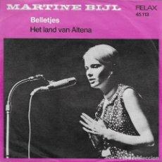 Discos de vinilo: MARTINE BIJL BELLETJES RELAX 1968. Lote 181233136