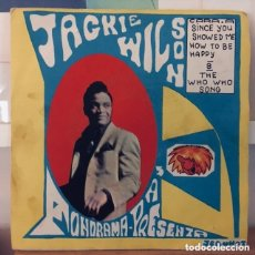Discos de vinilo: JACKIE WILSON SINCE YOU SHOWED ME HOW TO BE HAPPY ESPAÑA 1963. Lote 181317120