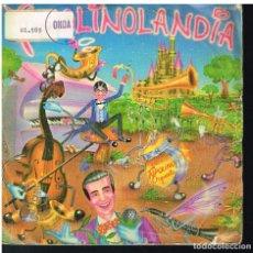 Discos de vinilo: TOPOLINO RADIO ORQUESTA - QUIERO SER COMO TU / BIBBIDI-BOBBIDI-BO +2 - EP 1982. Lote 181323218