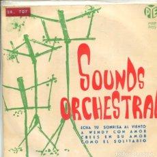 Dischi in vinile: SOUNDS ORCHESTRAL / ECHA TU SONRISA AL VIENTO / COMO EL SOLITARIO + 2 (EP 1965). Lote 181323758