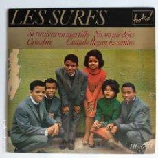 Discos de vinilo: EP ESPAÑOL - LES SURFS - SI TUVIERA UN MARTILLO. Lote 181327943