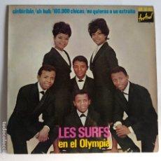 Discos de vinilo: EP ESPAÑOL - LES SURFS - EN EL OLIMPIA - CIRIBIRIBIN. Lote 181328605