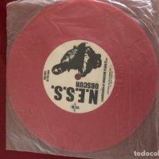 Discos de vinilo: LE SYNDICAT ELECTRONIQUE WESTMOON KLUB / HERR GELDMANN. Lote 181338100