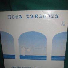 Discos de vinilo: ROSA ZARAGOZA. CANÇONS DE BRESSOL. DEDICATORIA AUTOGRAFA EN VINILO Y CONTRAPORTADA DE LA AUTORA.. Lote 181349860