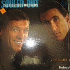 Discos de vinilo: THE RIGHTEOUS BROTHERS - SOULED OUT LP - ORIGINAL U.S.A. - VERVE RECORDS 1967 - MONOAURAL -. Lote 181354813
