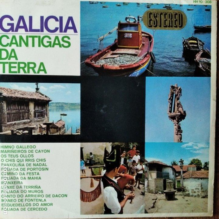 GALICIA, CANTIGAS DA TERRA - LP 1966 (Música - Discos - LP Vinilo - Étnicas y Músicas del Mundo)