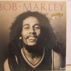 Discos de vinilo: BOB MARLEY - CHANCES ARE - WEA - 1982 - SPAIN - VG/VG. Lote 181389900