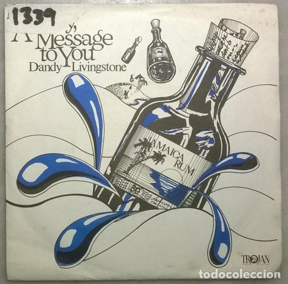 DANDY LIVINGSTONE. RUDY, A MESSAGE TO YOU/ TRIBUTE TO THE PRINCE/ BIG CITY/ THINK... TROJAN. UK 1973 (Música - Discos de Vinilo - EPs - Reggae - Ska)