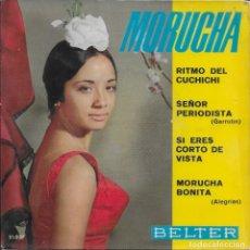 Discos de vinilo: MORUCHA RITMO DEL CUCHICHI BELTER 1963. Lote 181404896