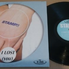Discos de vinilo: STAMP!! / I LOST (YOU) / MAXI-SINGLE 12 INCH. Lote 181405391