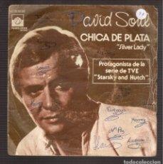 Discos de vinilo: SINGLES ORIGINAL DE DAVID SOUL. Lote 181415046