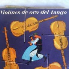 Discos de vinilo: LOS VIOLINES DE ORO DEL TANGO EP ESPAÑA 1960. Lote 181417672