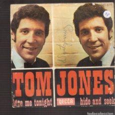 Discos de vinilo: SINGLES ORIGINAL DE TOM JONES. Lote 181418180