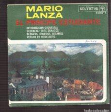 Discos de vinilo: SINGLES ORIGINAL DE MARIO LANZA . Lote 181421305