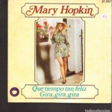 Discos de vinilo: SINGLES ORIGINAL DE MARY HOPKIN. Lote 181422078
