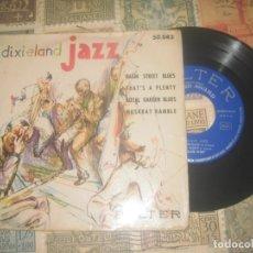 Discos de vinilo: DIXIELAND JAZZ, EP, BASIN STREET BLUES (BELTER-1959) OG ESPAÑA. Lote 181433156