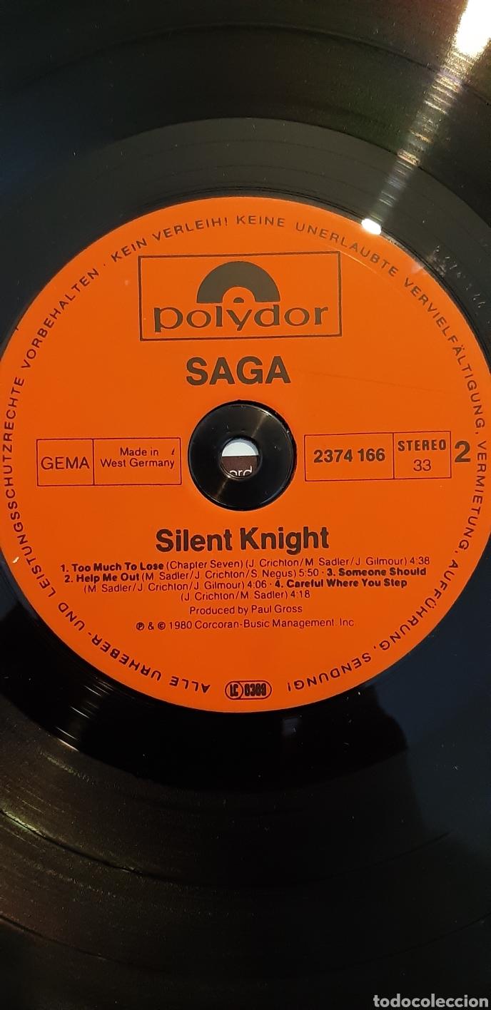 Discos de vinilo: SAGA. SLINT KNIGHT. ALEMANIA 1980. - Foto 3 - 181442725