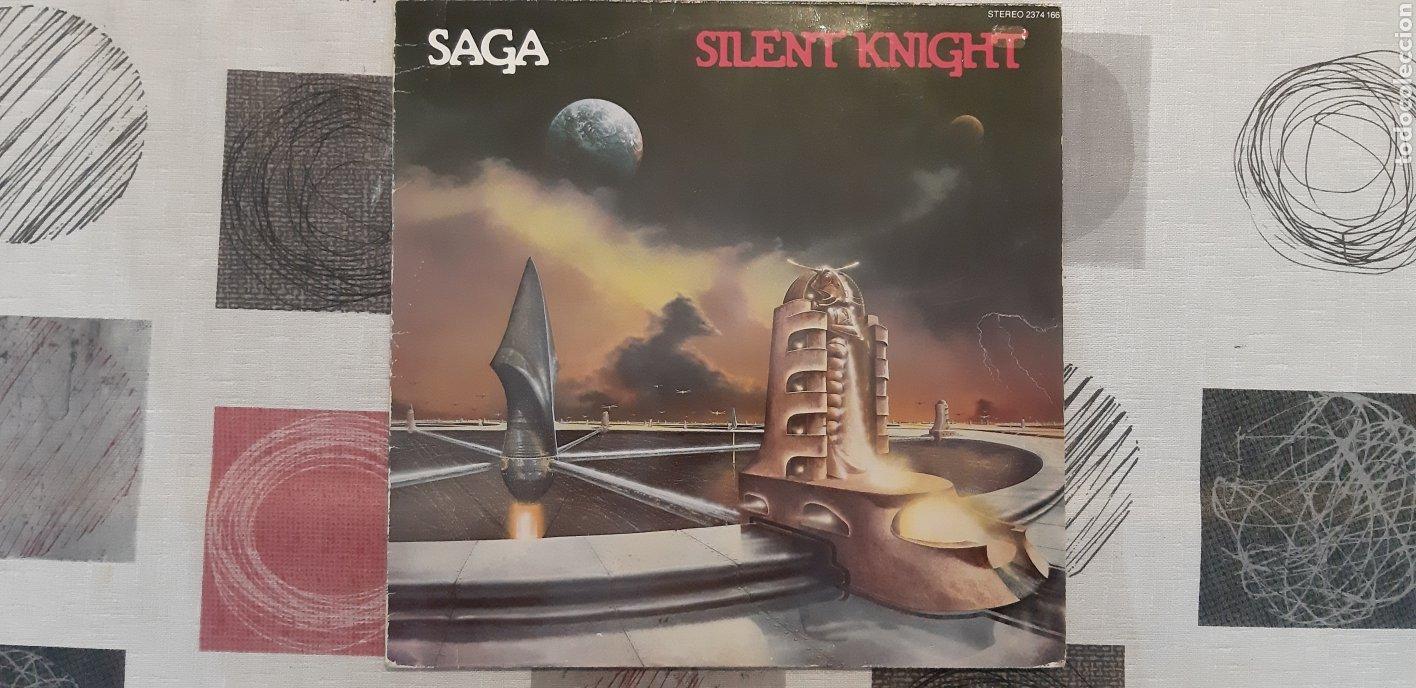 SAGA. SLINT KNIGHT. ALEMANIA 1980. (Música - Discos - LP Vinilo - Pop - Rock - New Wave Extranjero de los 80)