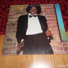 Discos de vinilo: MICHAEL JACKSON. OFF THE WALL. EPIC-CBS, UK 1979 LP + DOBLE CARPETA. Lote 181443703