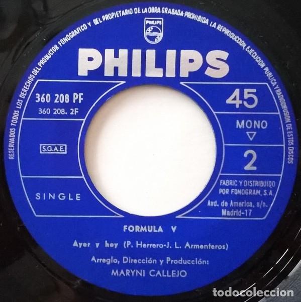 Discos de vinilo: Tengo Tu Amor - Formula V - Foto 3 - 181334505