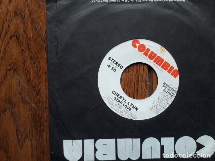Discos de vinilo: Cheryl lynn - star love (mono) + star love (stereo) - promocional usa - Foto 2 - 181450398